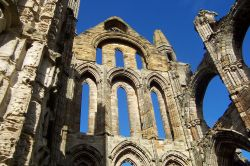 Lancet Windows at Whitby Abbey