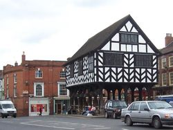 Ledbury - the market square