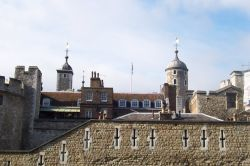 Tower of London Turrets Wallpaper