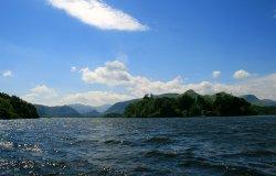 Derwentwater from pleasure boat.
