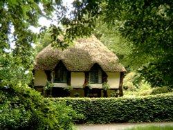 the lodge at Cockington