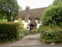 A garden at Cockington.