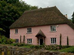 Rose Cottage at Cockington.