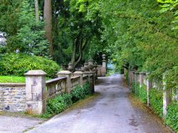 Entrance to the Thornbridge estate, Great Longstone