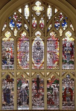 Leicester Cathedral window 1