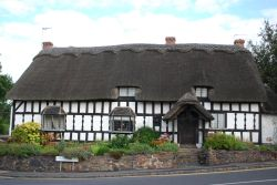 Thatched Timbered Cottage
