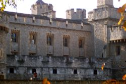 Side of the Tower of London Wallpaper