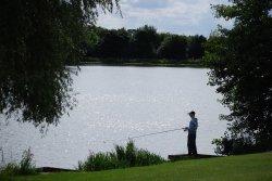 Fishing at Himley