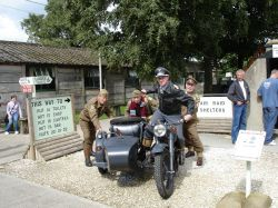 It was either wait for the AA? Or get the Home Guard to push!