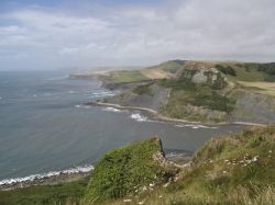 Chapmans pool towards Kimmeridge bay
