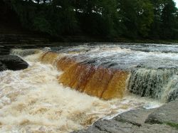 A view of Aysgarth, North Yorkshire