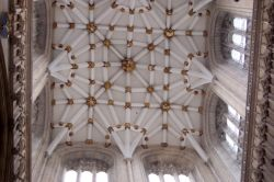 South transept ceiling in York Minster