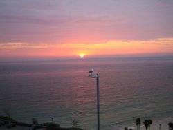 Sunrise over Godrevy