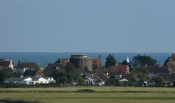 A View from Pevensey Castle