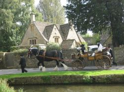 Lower Slaughter-a wedding