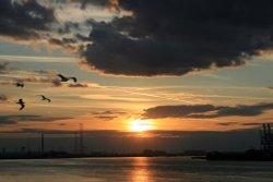 The Thames at Northfleet