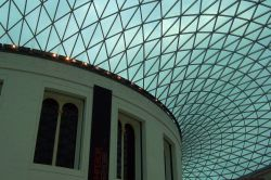 Ceiling of the Great Court of the British Museum
