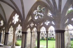 Looking Out from the Cloister...