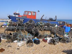 Fishing Boat on Deal beach.