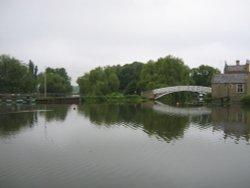Godmanchester - bridge and river