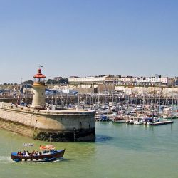 The mole at Ramsgate, Kent