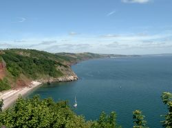 Sea front at Babbacombe