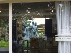 The Bronte Sisters - hearts of stone - Bronte Museum