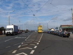 Fleetwood - approaching the ferry terminal