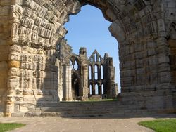 So he will be back around sundown? Whitby Abbey sans Dracula....
