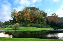 Autumn in Studley Royal Water Garden