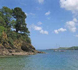 The Helford Estuary at Glendurgan