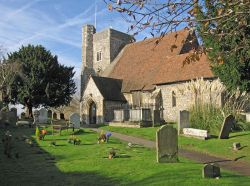 St.Michael and All Angels Church, Hartlip, Kent