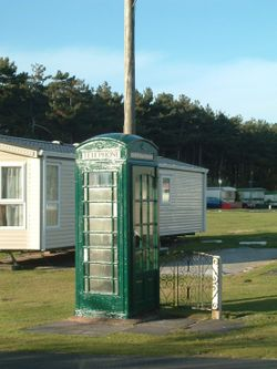 Formby Point Caravan Park(a lonely phone call)