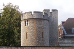 Tower of London Turret Wallpaper