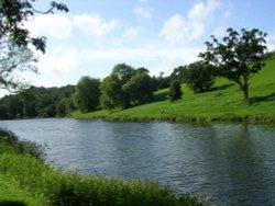 Lake at Ugbrooke House