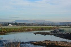 River Ribble and Pendle Hill