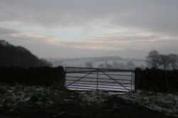 Winters morning in Co Durham