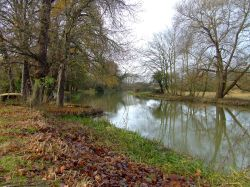 The River Nene at Water Newton