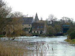 Nene and mill house