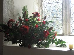 St Stephens Church - Christmas Flowers