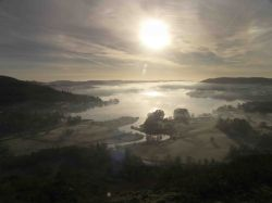 Waterhead Ambleside from Todd Crag