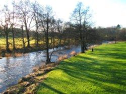 River Hodder at Slaidburn