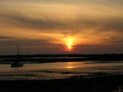 Ravenglass sunset