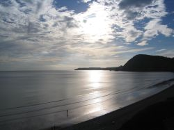 Sunset over Sidmouth