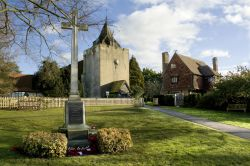 War Memorial and Church