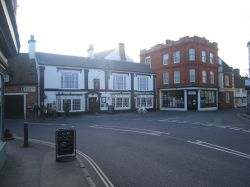 The Bell Hotel in Winslow
