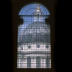 Dome at Greenwich Hospital, London