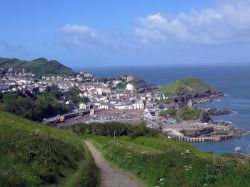 South West Coast path from Ilfracombe to Combe Martin Bay 2005