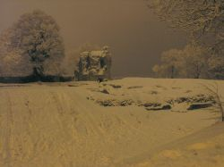 Feb 2009 Late evening Ludgershall Castle