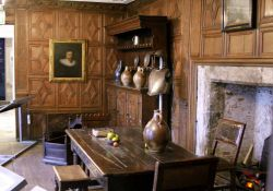 Jacobean room in the museum